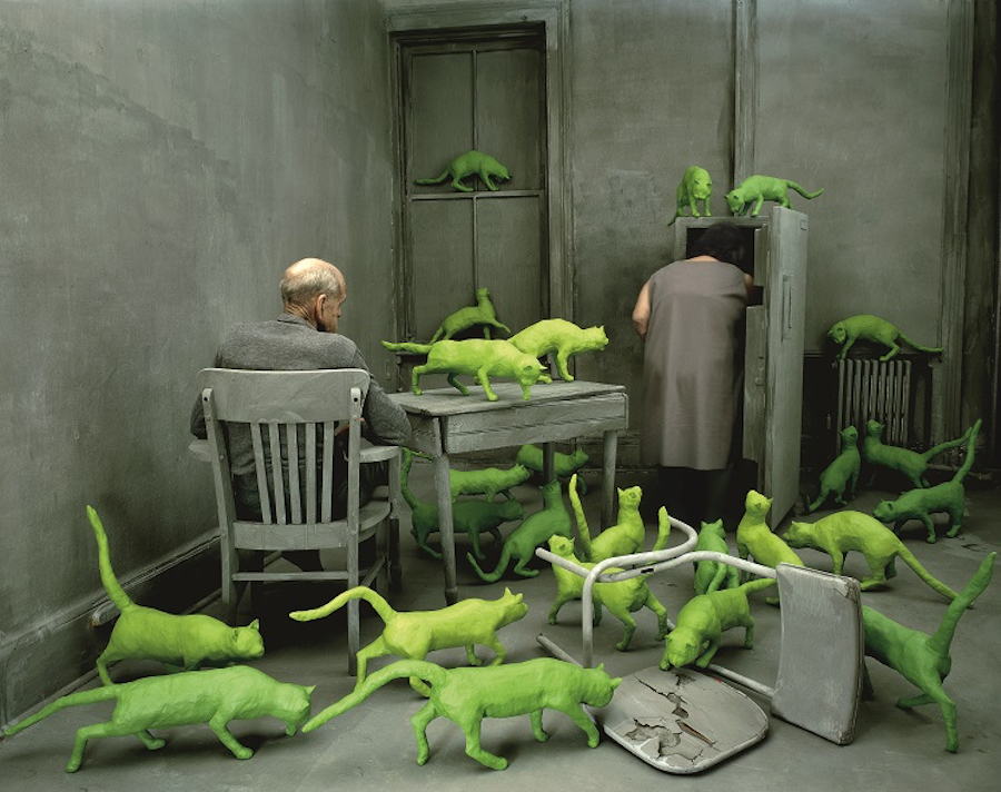 Radioactive Cats by Sandy Skoglund, 1980 © Sandy Skoglund