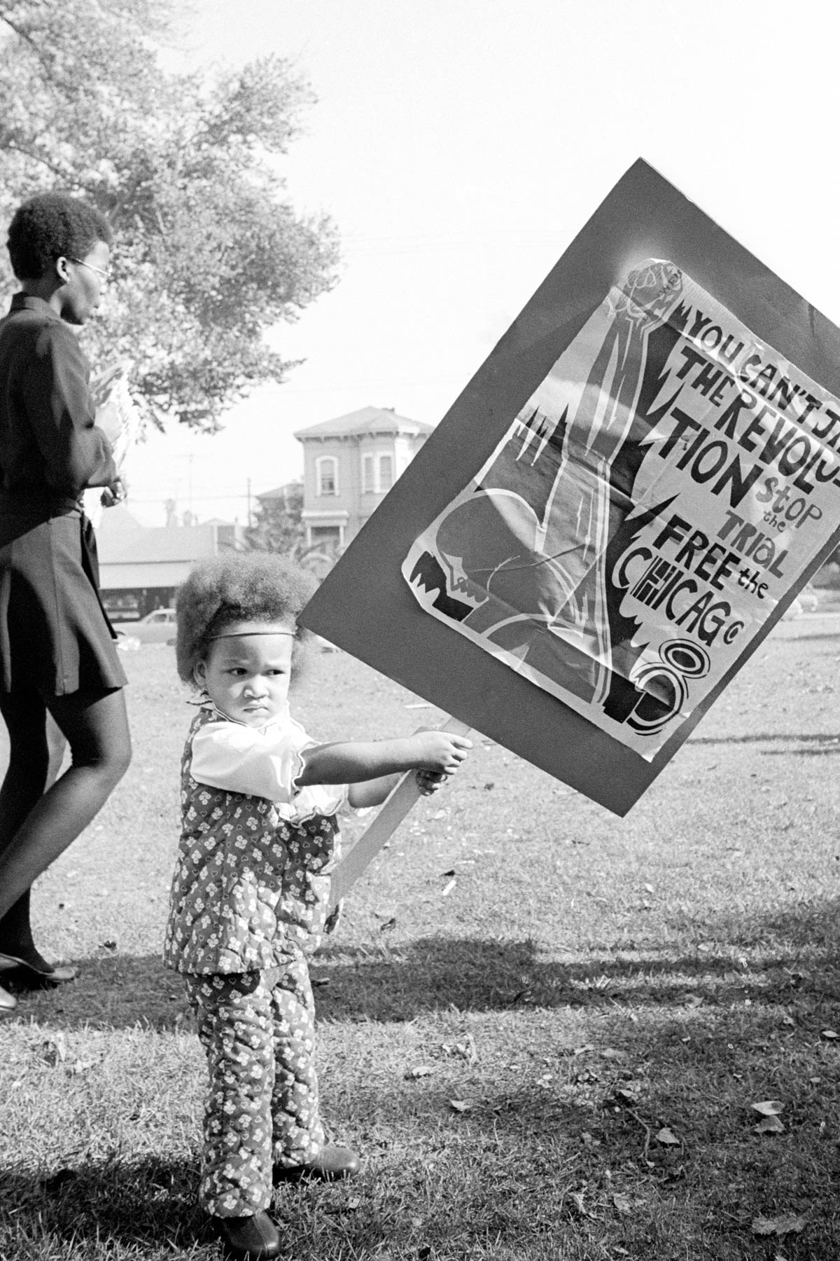 """Robert Wade, California, 1969-1970, courtesy of the photographer,from """"All Power: Visual Legacies of the Black Panther Party,"""" PCNW 2018"""