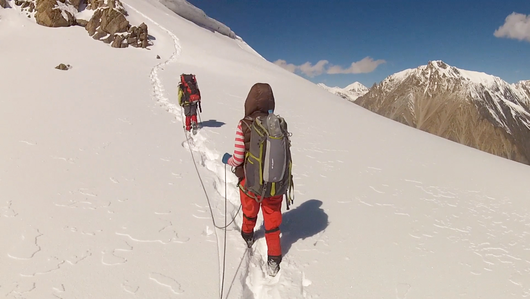 A scene from The Unknown Mountaineer by Shehrbano Saiyid.