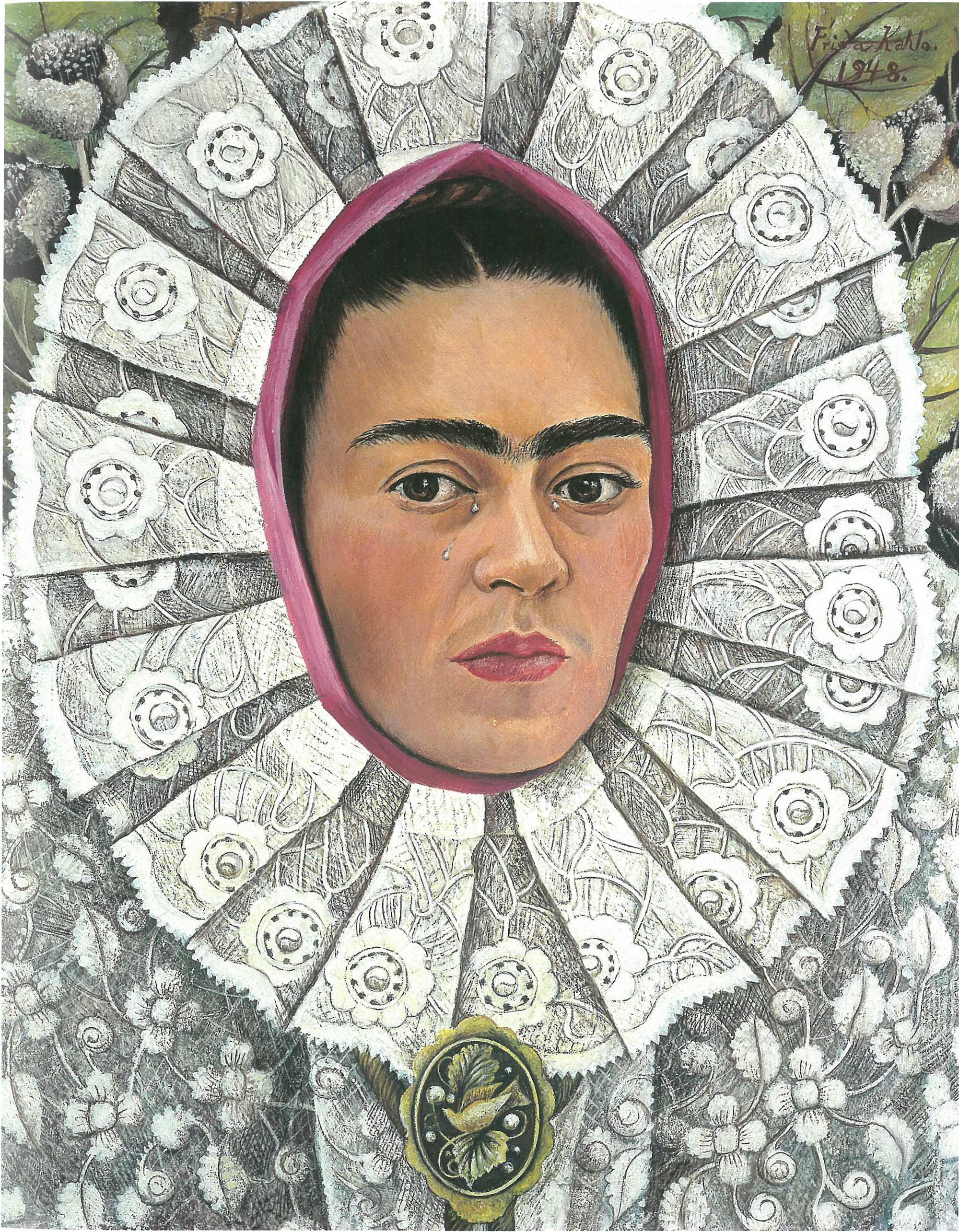 Self-Portrait, Frida Kahlo, 1948 © Private Collection