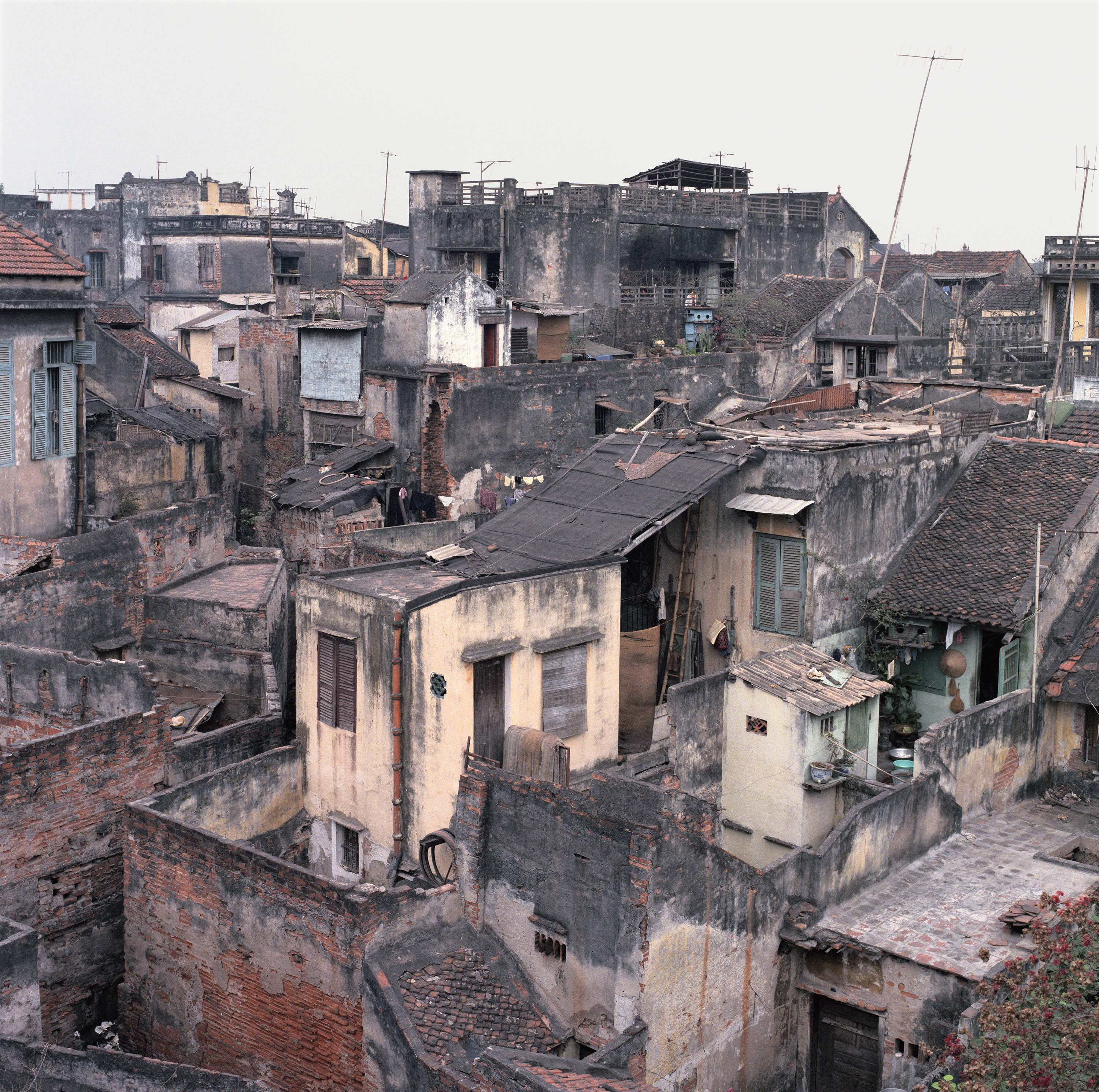 View from Đinh Liệt, 1986 © William E. Crawford