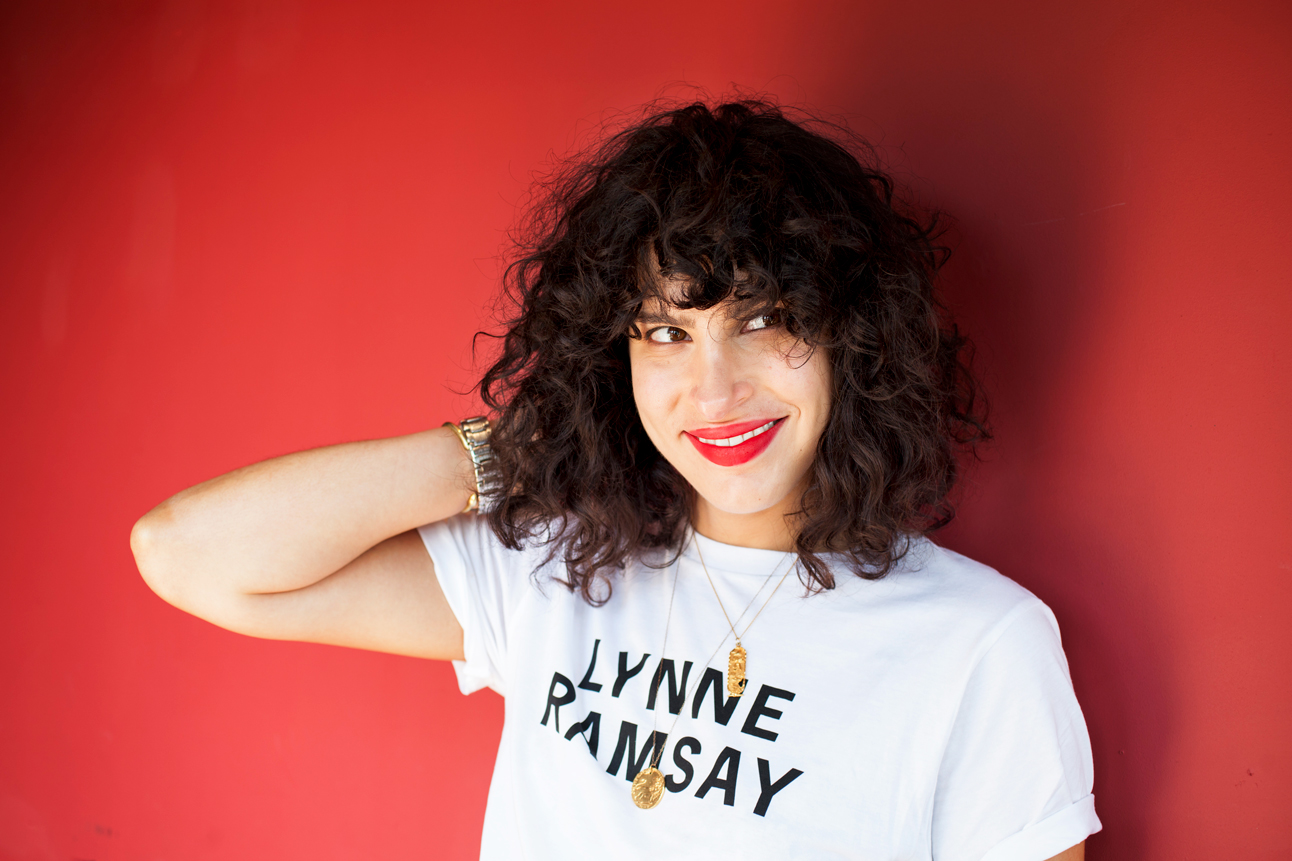 Filmmaker Desiree Akhavan by photographer Abbie Trayler-Smith