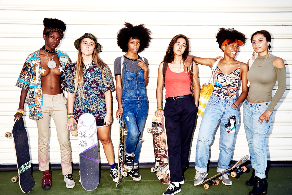 Skate Kitchen by photographer Amy Lombard