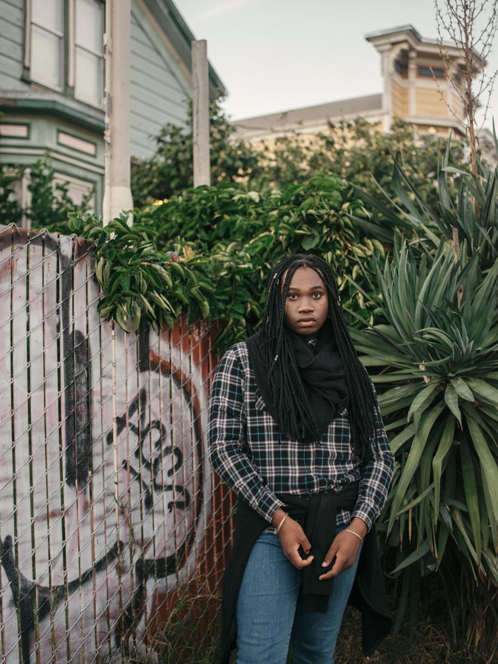 Annie Tritt. Azaj, 17, Transgender Girl, Oakland, CA