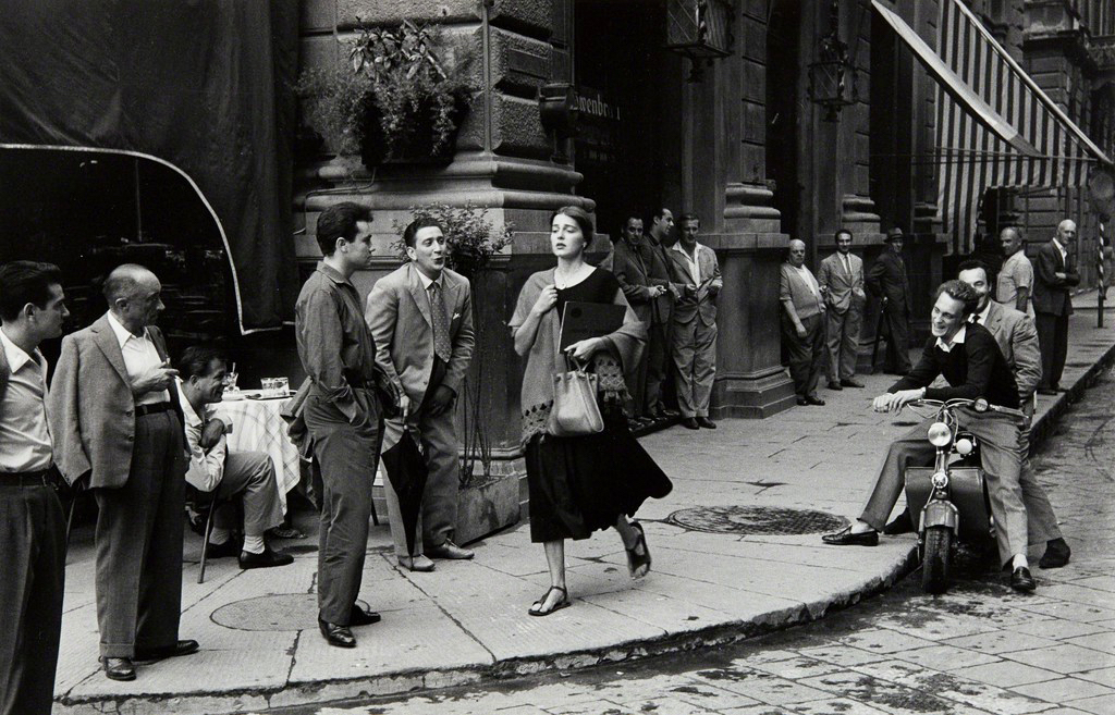 Ruth Orkin. American Girl in Italy, 1951