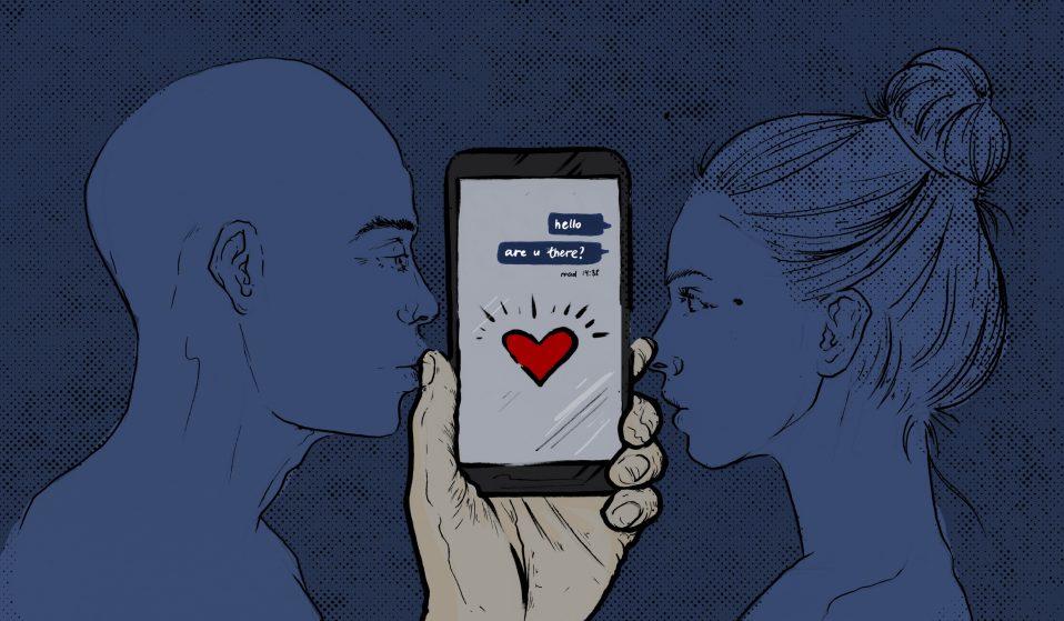 Splitting up and heartbreak in the world of social media