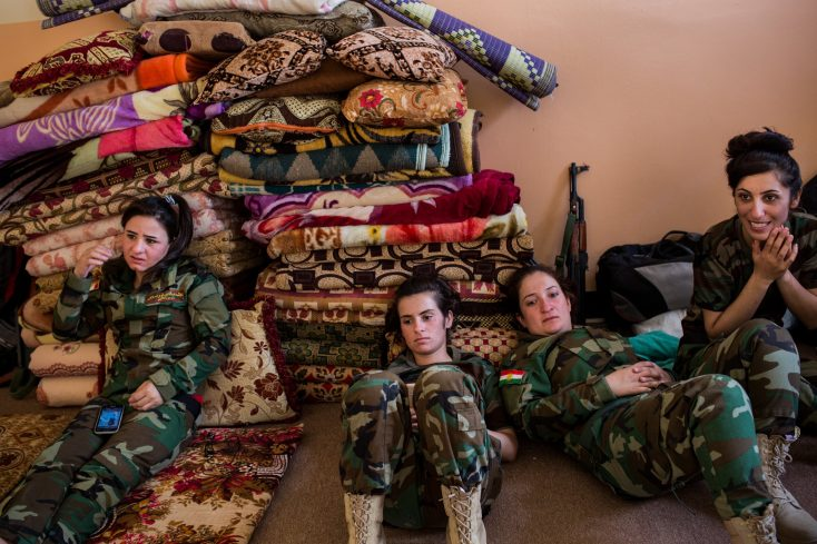 Women in war zones: Shooting the frontline when you're not a middle class man