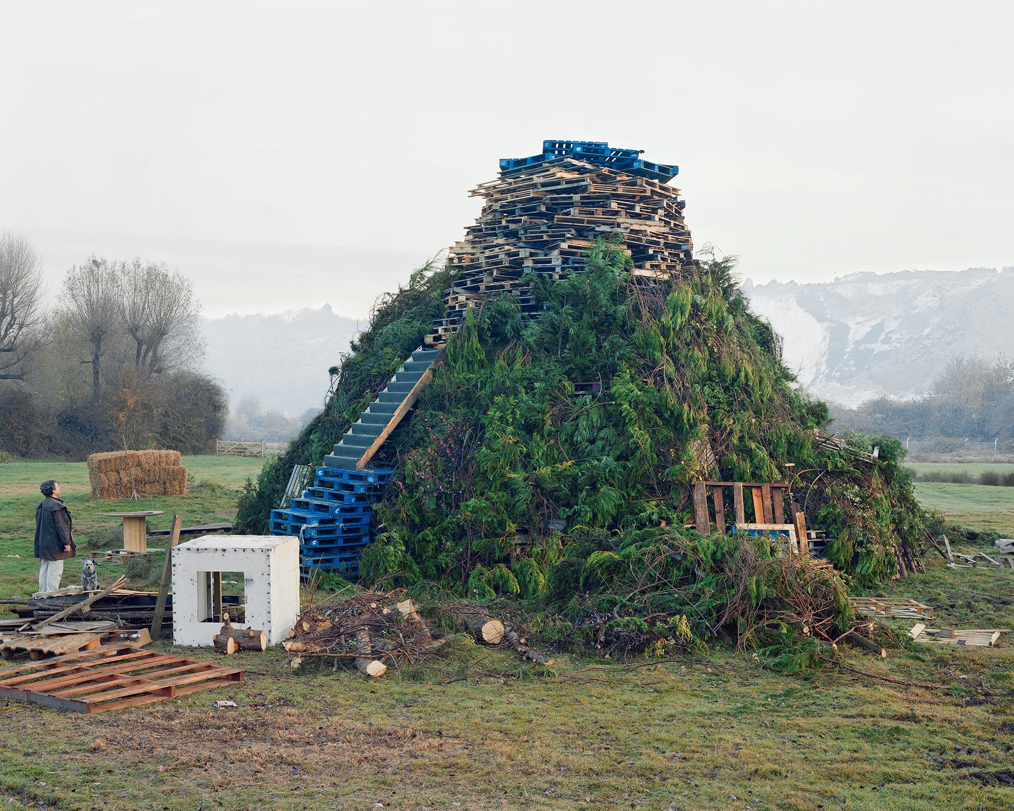 Dystopian shots of Britain's rural edgelands