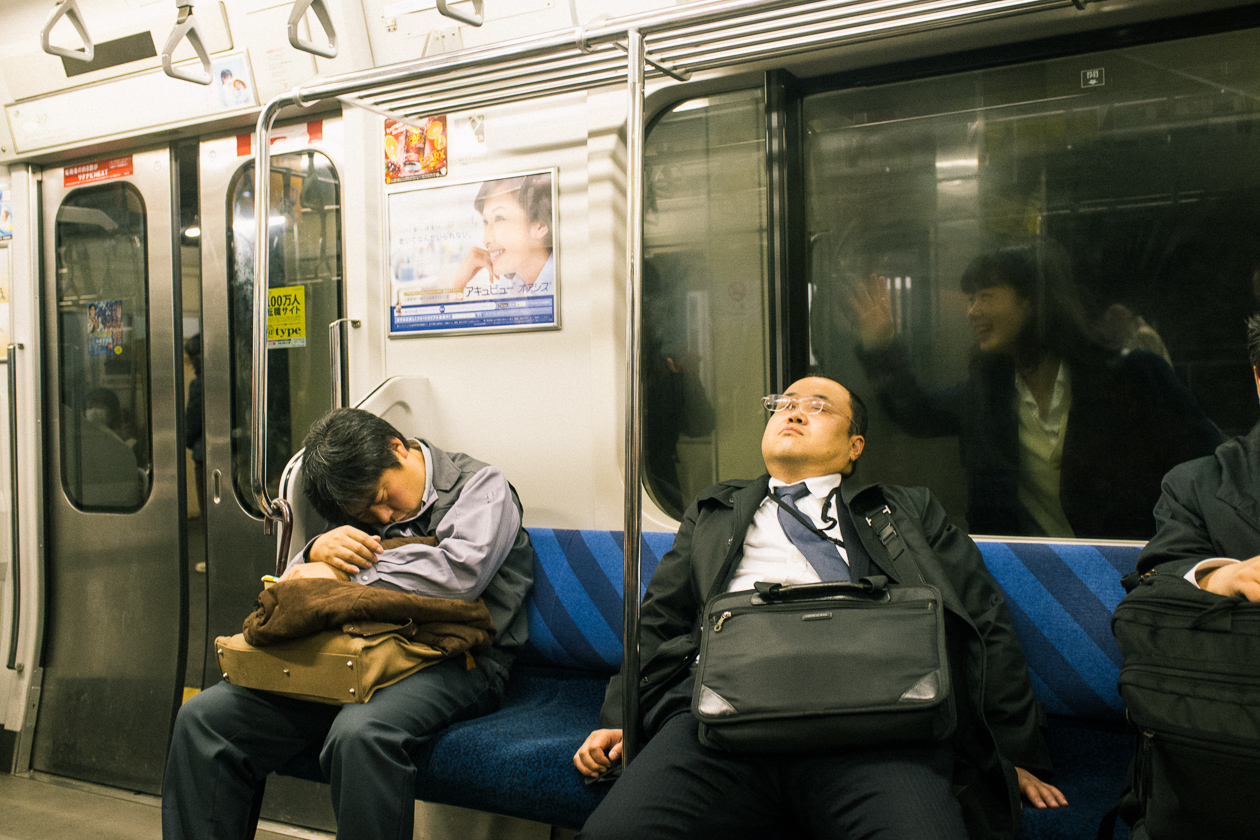 Magic in the mundane: candid shots on the streets of Japan