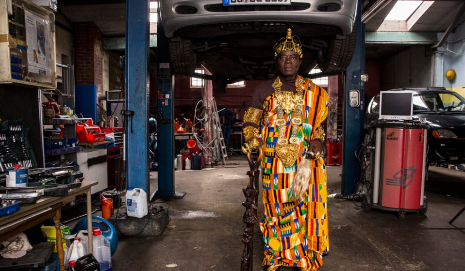 Meet the African chief who leads a double life in Germany