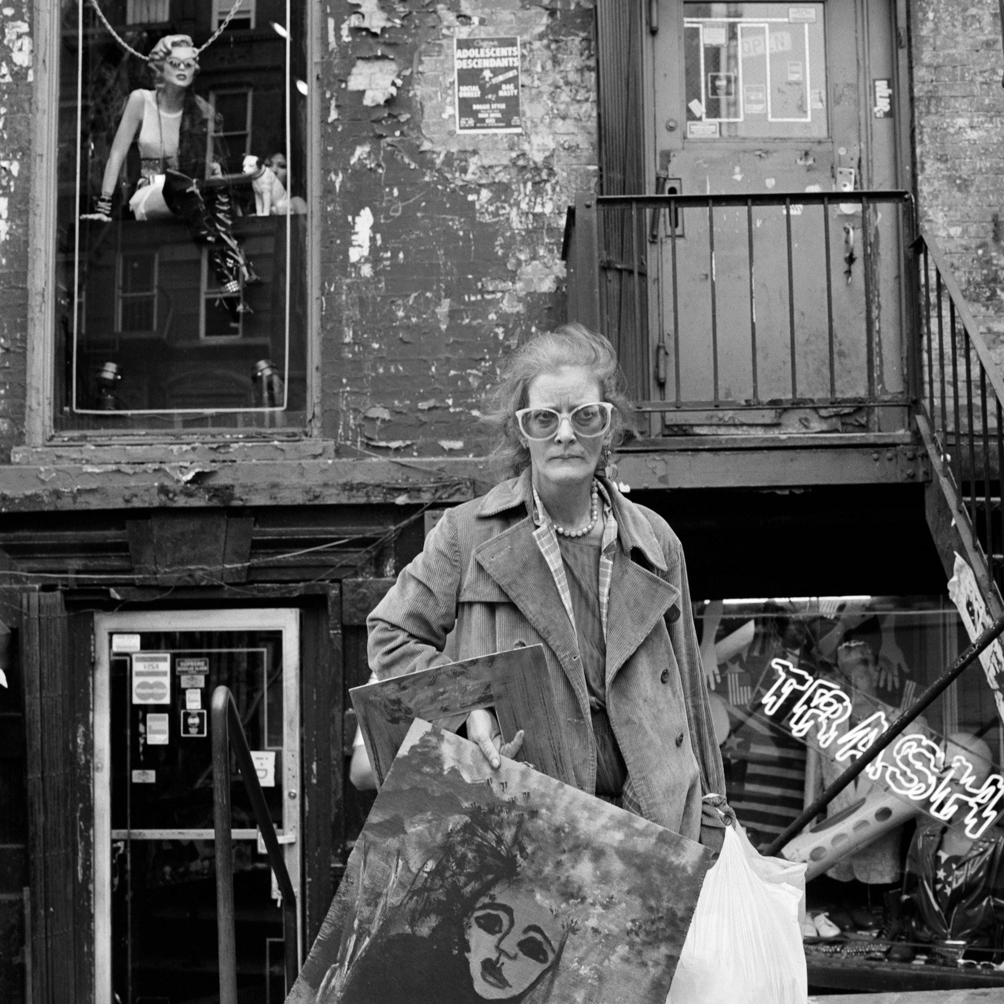 Rosalind Fox Solomon's surreal shots of American life