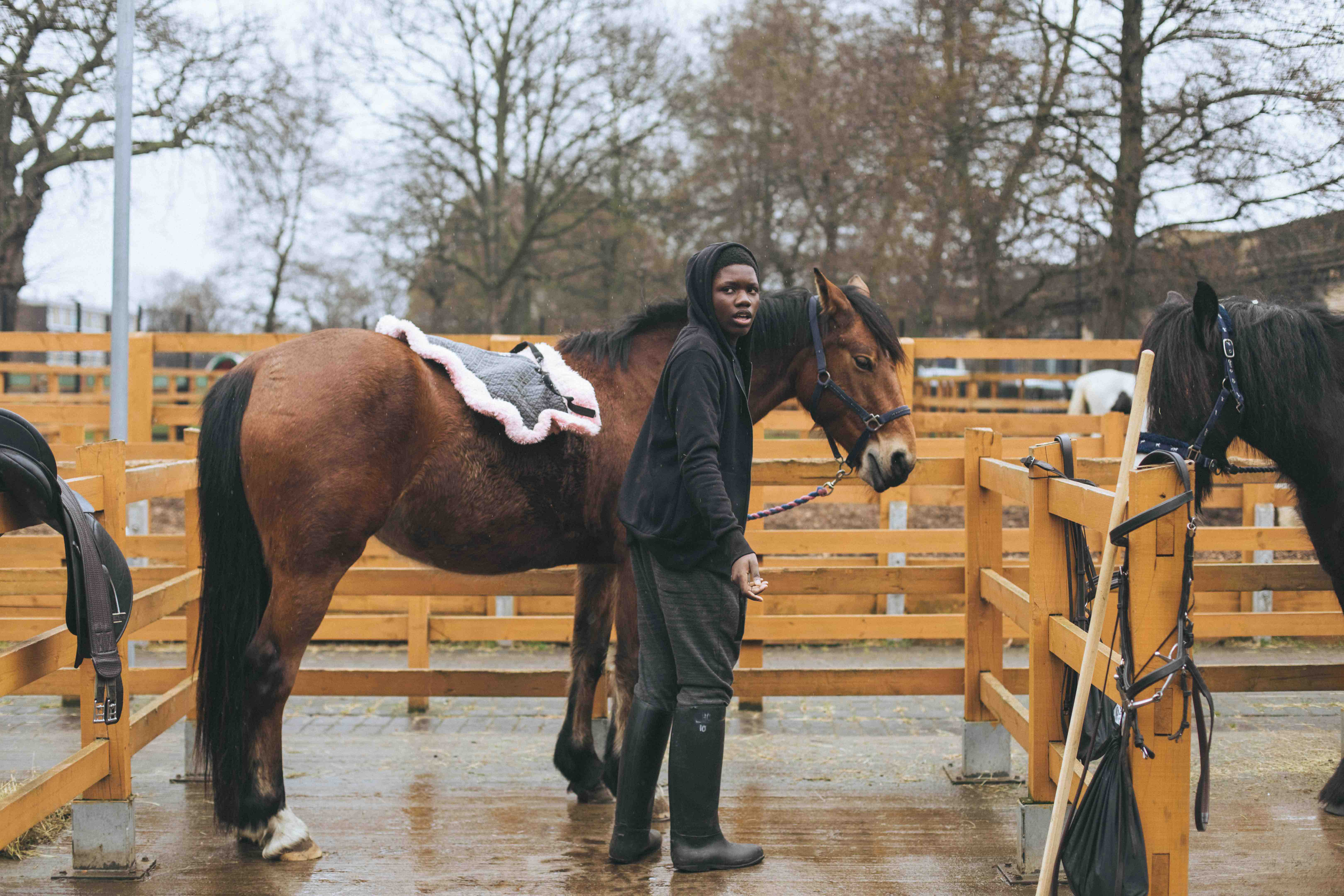 The horse club offering a safe haven for young Londoners