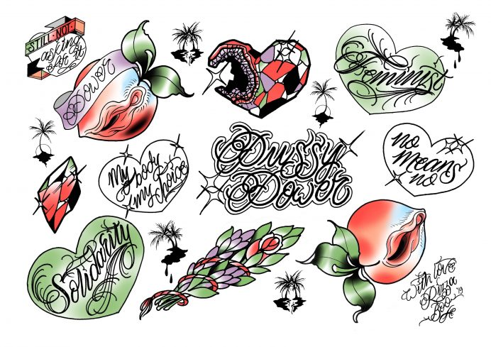 How a tattoo flash day is revolutionising the industry