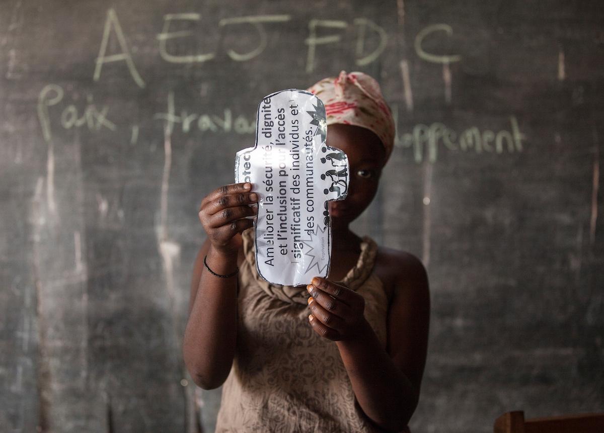 How women in Congo are beating period stigma