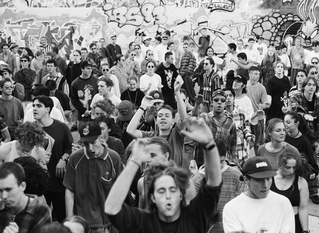 A teen's visual diary of the early-90s rave scene