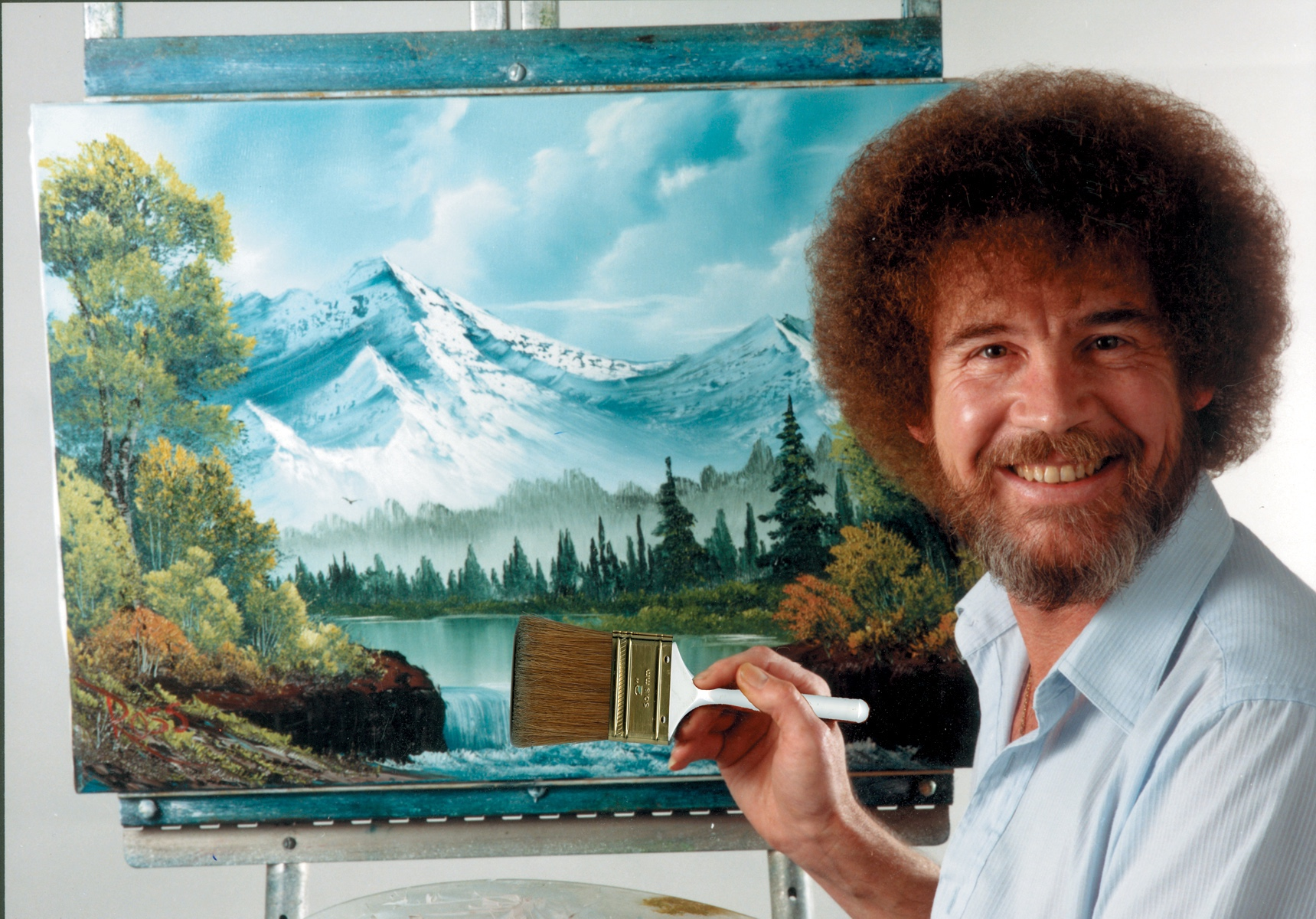 Happy accidents: revisiting the dreamy, DIY world of Bob Ross