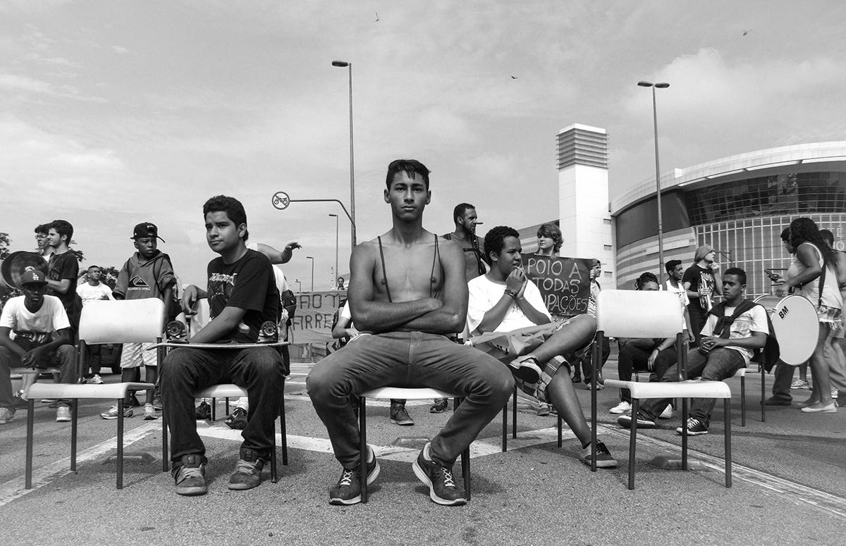 A portrait of teenage resistance in Brazil