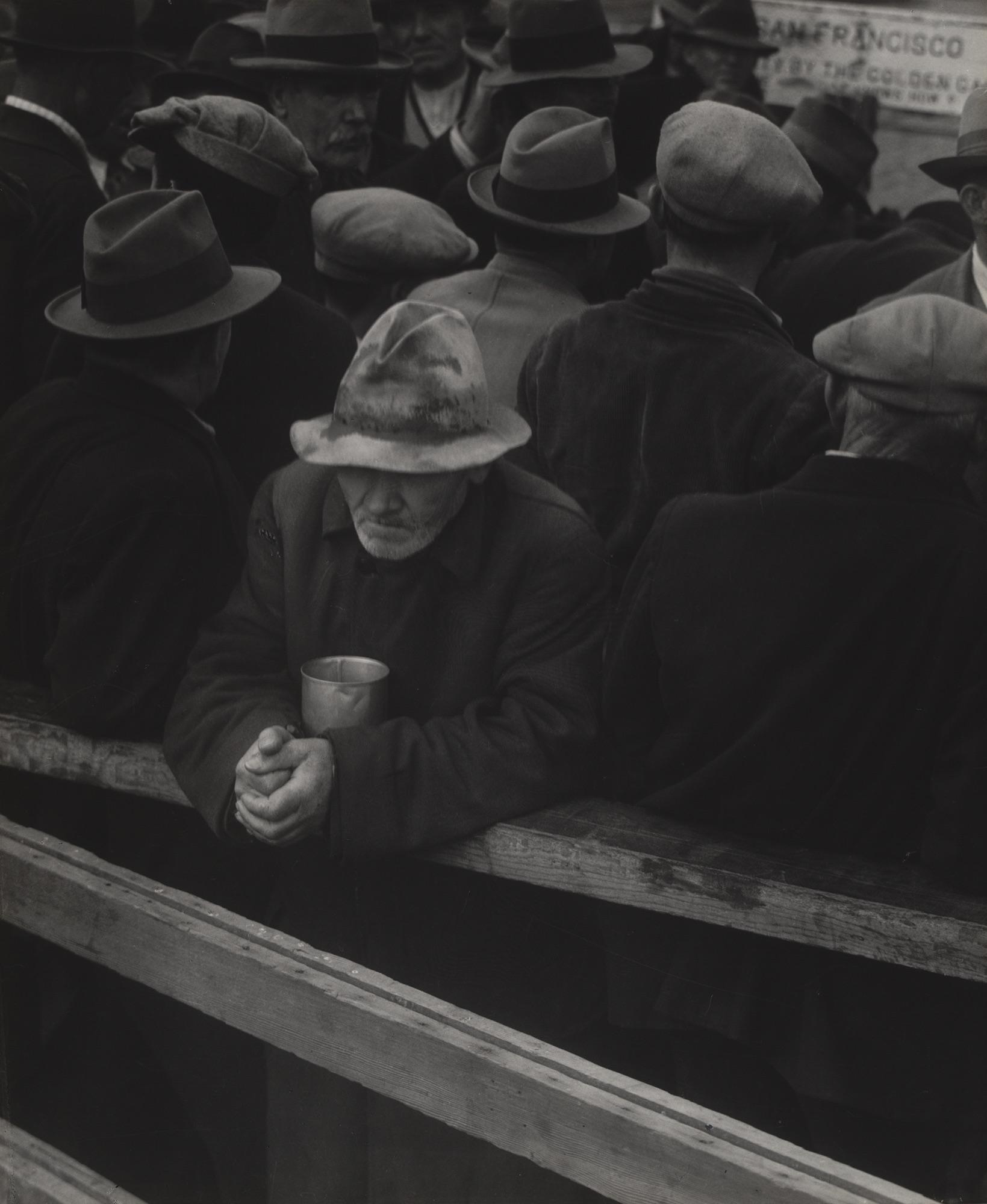 Dorothea Lange.White Angel Bread Line, San Francisco. 1933