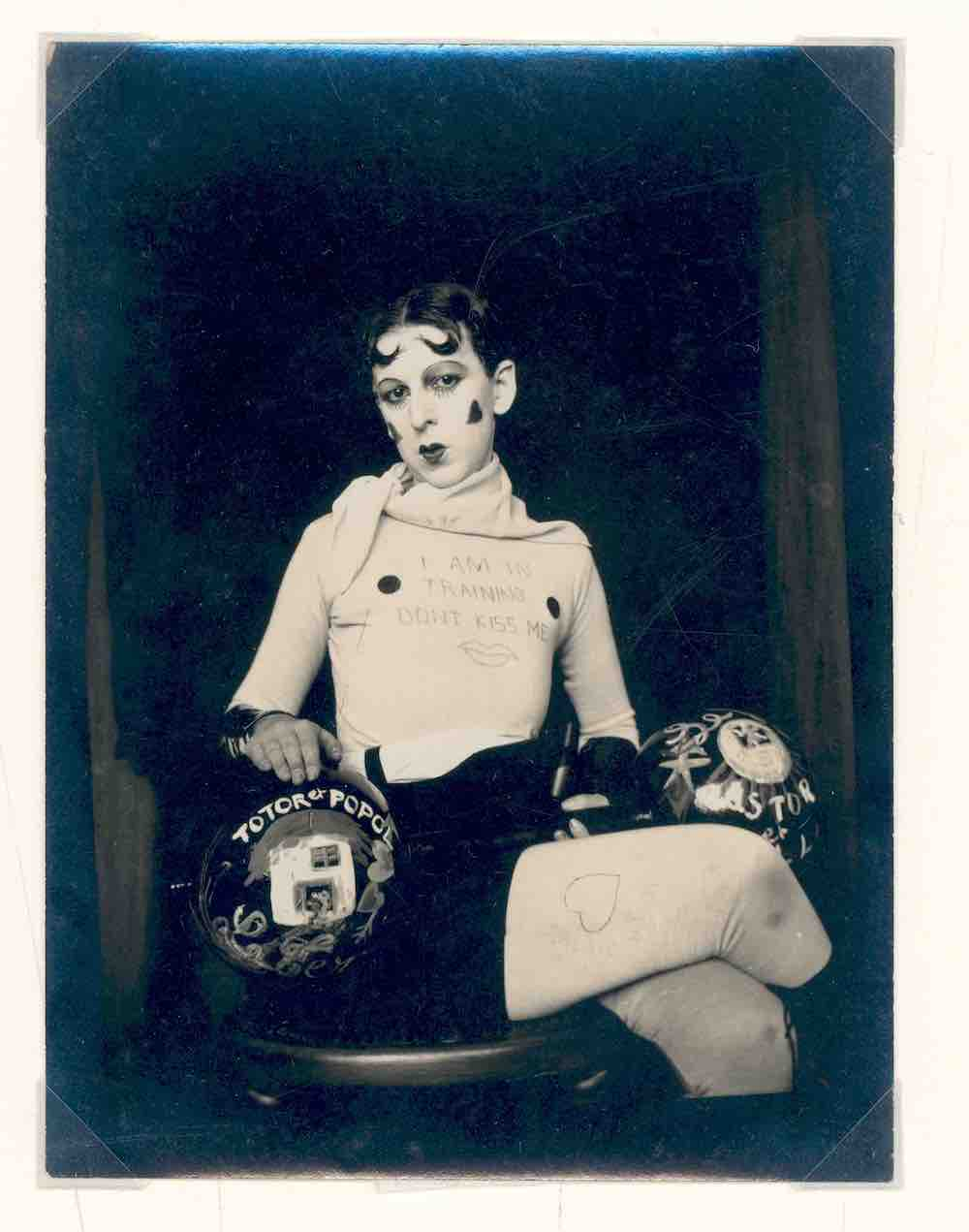 Claude Cahun Self Portrait c.1927