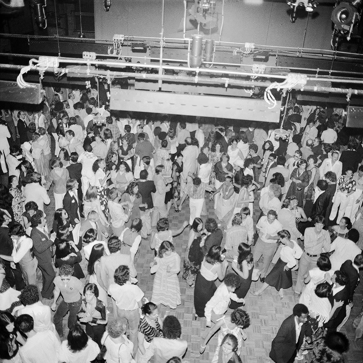 Dance Floor, Studio 54, July 1977