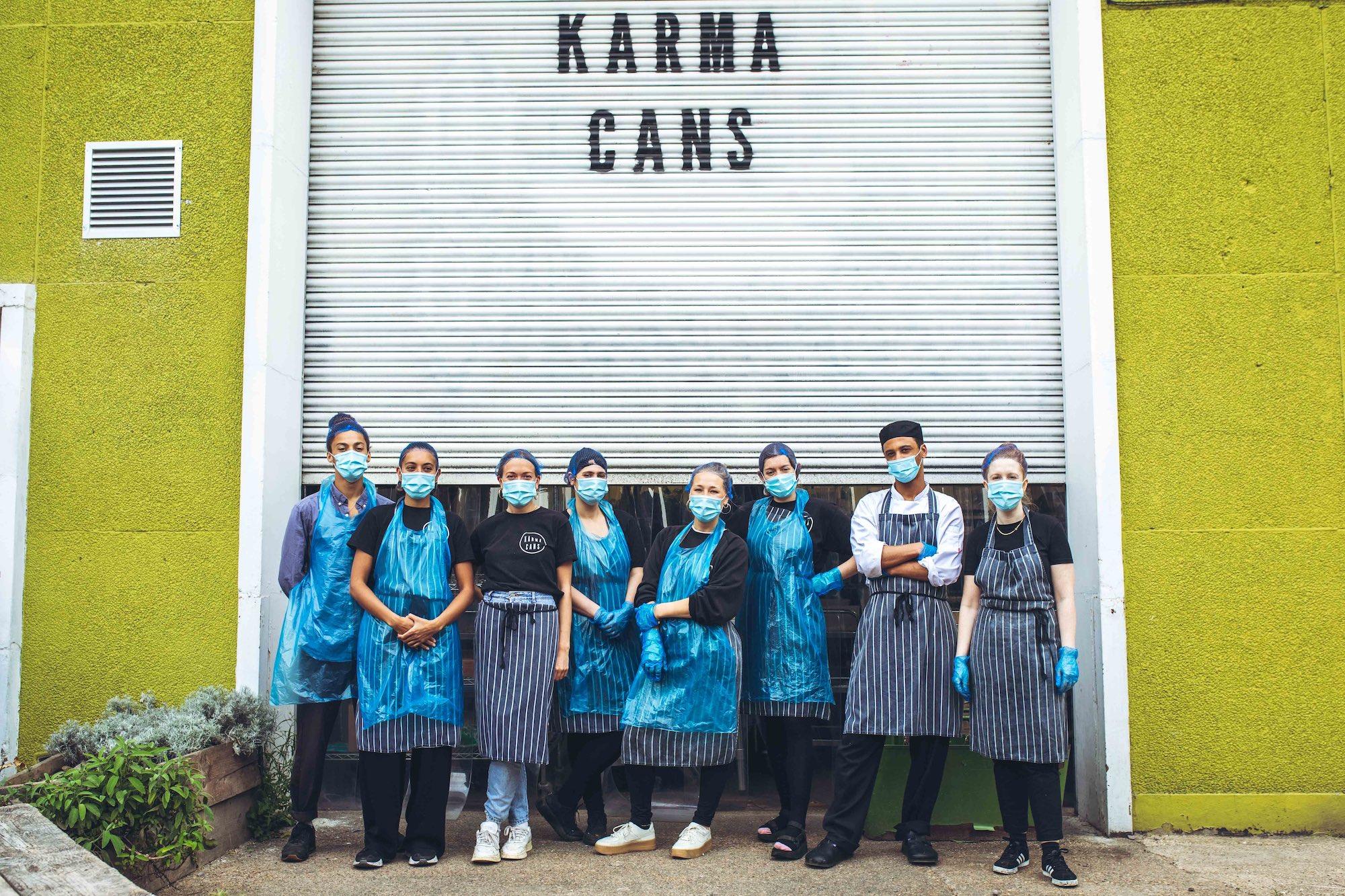 Karma Cans Theo McInnes pandemic innovators