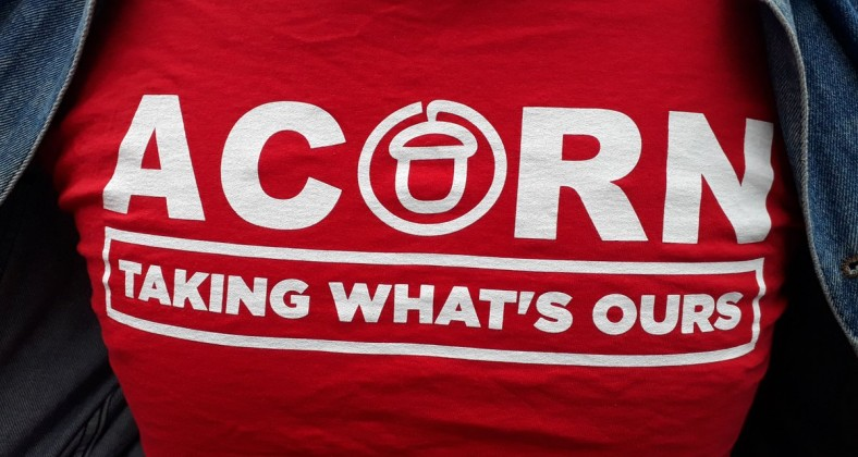 Acorn tenants renting union england