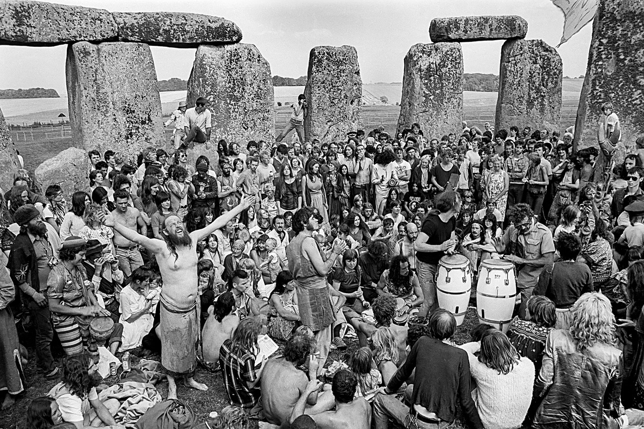 Halycon days at an '80s Summer Solstice Festival