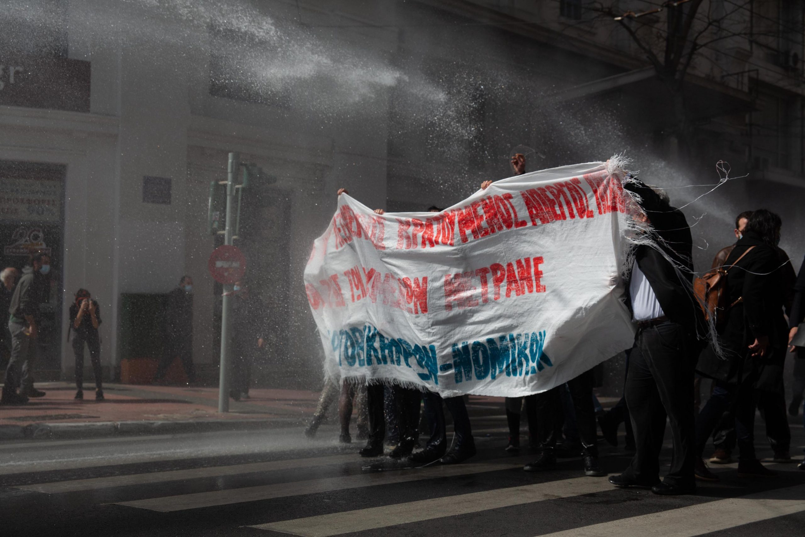 Athens is rising up against police brutality