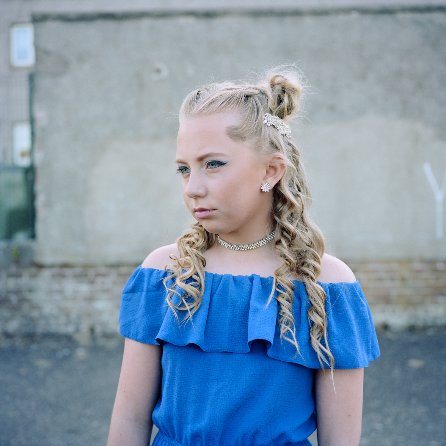 Photos of family, loss and love in Scottish housing estates