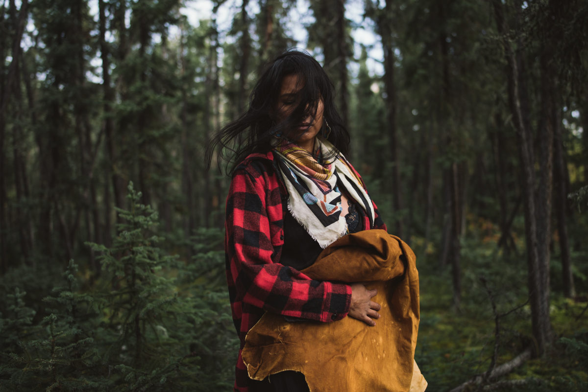A portrait of resistance among indigenous people in Canada